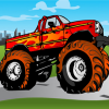 Kids Monster Truck Puzzle