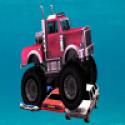 Monster Truck Crushing Car