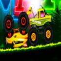 Jungle Monster Truck Race