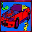 Kids Car Coloring