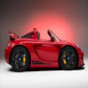 Red Racing Cartoon Car